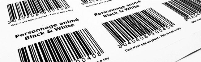 Planches étiquettes adhésives sur-mesure avec ou sans impression
