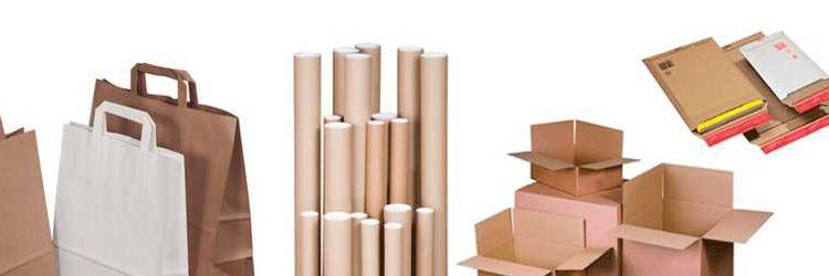 Fournitures et emballages cartons boites et tubes